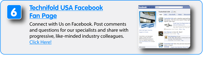 8 Free Resources from Technifold USA - Facebook Fan Page
