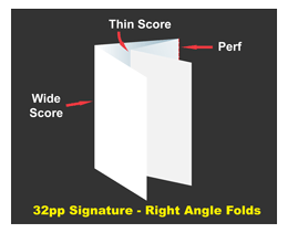 right angle folds