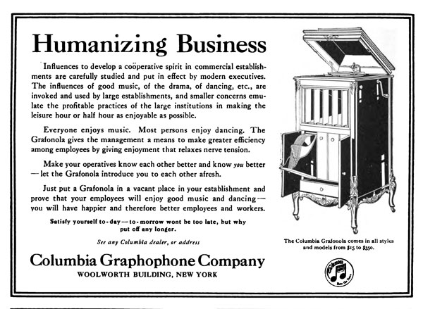 ad for printing executives