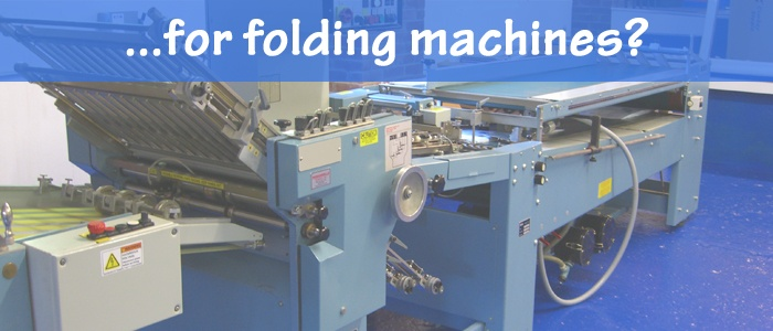 Bindery Tools for Folding Machines