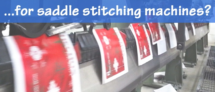 Bindery Equipment for Saddle Stitching Machines