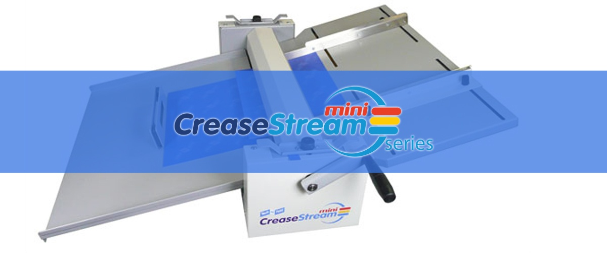 CreaseStream Mini Scoring Machines from Technifold USA