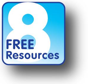 8FreeResources Logo