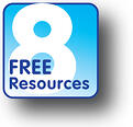 8FreeResources Logo