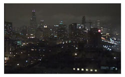 Chicago Night Skyline250