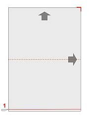 cut sheets in half