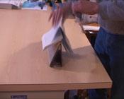 hand folding