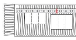 Folding machine register roll fold