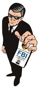 fbi man at printing company