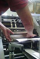 tape to horizon fold roller