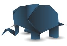 elephant origami225