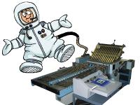 astronaut folding machine