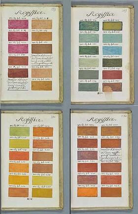 medieval color book index