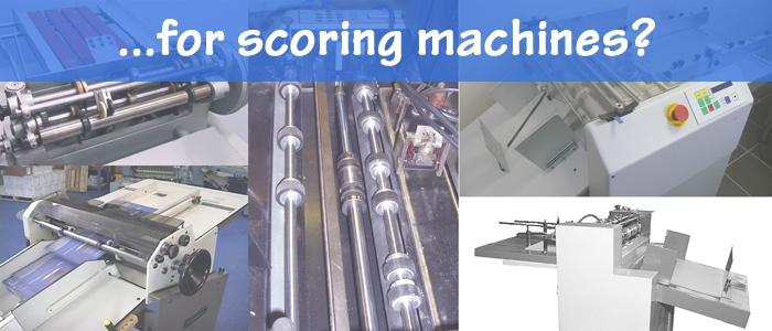 Bindery Tools for Scoring Machines