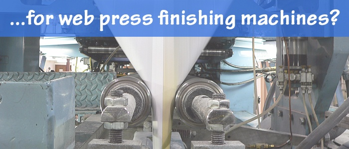 Bindery Tools for Web Press Finishing Machines